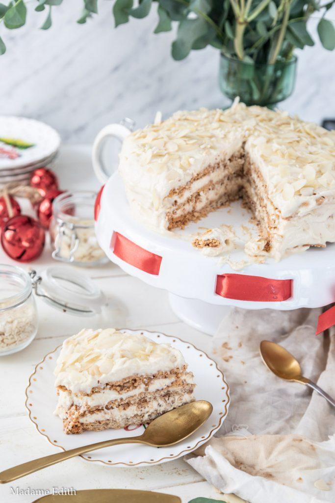 tort migdałowo-kawowy